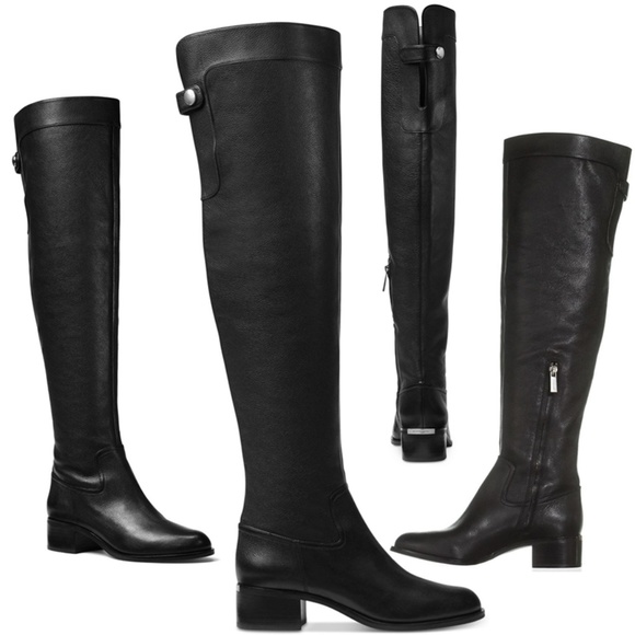 41a13380ad4 MICHAEL Kors Finn Over-The-Knee Boots 6 leather. M 5aa896e42c705d20cb9925cc